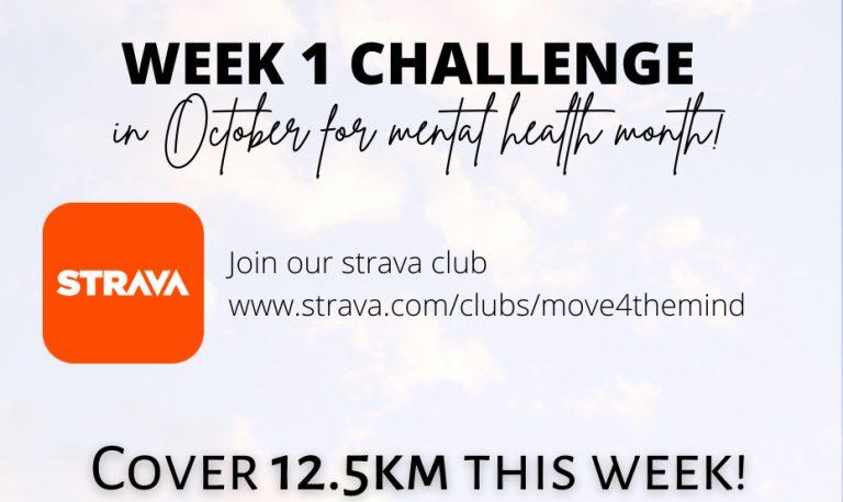#MOVE 4 THE MIND: Week 1 Challenge