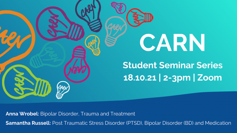 The Community and Research Network (CARN) Student Seminar Series
